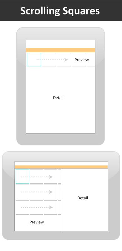 iPad News Apps Interface